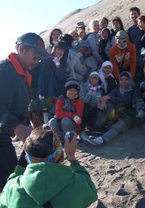 Backpacking with a baby in SE Asia Mount Bromo