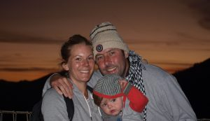 Backpacking with a baby in SE Asia - Mount Bromo