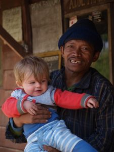 Backpacking with a baby SE Asia - Ijen