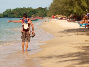 backpacking with a baby in SE Asia