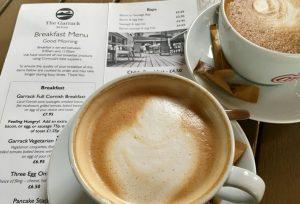 Morning Coffee in Cornwall