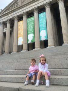 Kids outside DC museum