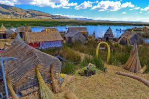 Lake Titicaca Floating village