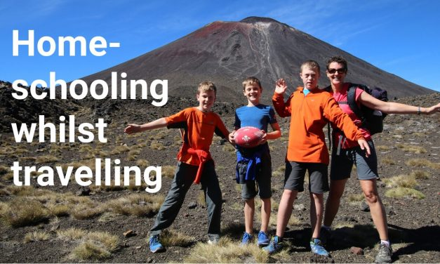 Home-Schooling Whilst Travelling