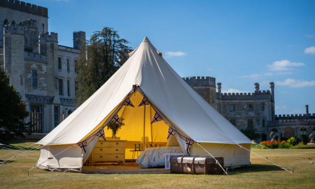Win a family bell tent from The Vintage Tent Company